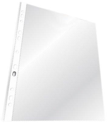 Durable 265919 Prospekthüllen (Din A4 Standard) 100 Stück, transparent