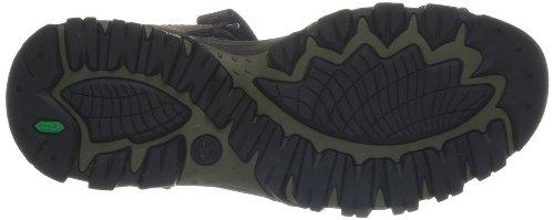 Timberland  Eldridge Sandal,  Herren Sneaker Braun - Braun (Dark Brown)