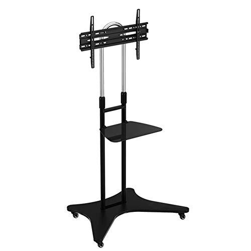 Flat-panel-tv-konsole (Mobile TV-Stand Trolley Cart 32 bis 65 Zoll Universal Flat Screen TV Carts Stand Mobile TV-Konsole Stand mit Mount für LED LCD Plasma Flat Panels auf Wheels Adjustable TV Cart)