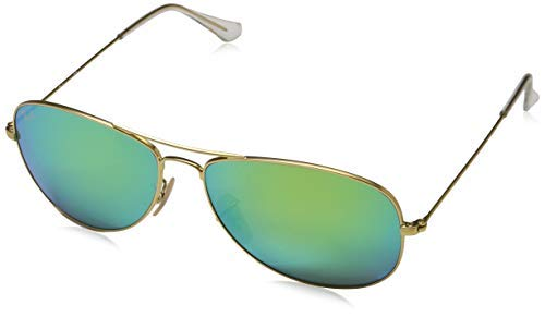 Ray-Ban Unisex Cockpit Sonnenbrille, Multicolore (1), Small