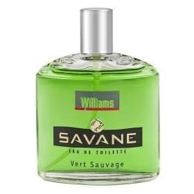 Williams eau de toilette Savane vert sauvage vaporisateur 125ml