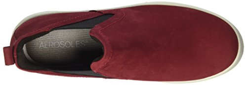 Aerosoles shipment Nubuck Berry, Stivali Chelsea Donna Red (Berry)