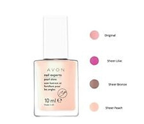 Avon Nail Experts Pearl Shine-Sheer Lila -