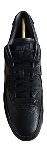 Nike Wmns Air Max 90 Pinnacle, Chaussures de Sport Femme Noir - Negro (Black / Black-Sail)