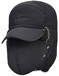 Nimpansa Gorra De Béisbol Impermeable Unisex Esquiar Cazar Máscara Proteger El Oido