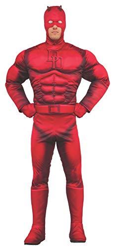 Rubie 's Offizielles Marvel Daredevil Deluxe Kostüm-Erwachsene X-Large Größe -