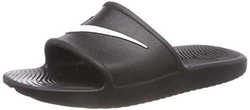 Nike kawa shower (gs), sandlai sportivi bambino, nero (black/white 001), 36 eu