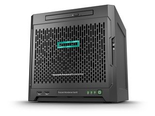 Produktbild Hewlett Packard Enterprise ProLiant MicroServer Gen10 2.1 GHz X3421 200 W Ultra Micro-Tower Server (2,1 GHz, X3421, 8 GB, DDR4-SDRAM, 200 W, Ultra Micro Tower)