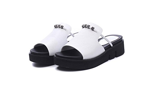 Sommer Damen Sandalen Brote dicke Boden Hausschuhe 1