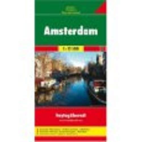Freytag Berndt Stadtpläne, Amsterdam - Maßstab 1:12 500 (Amsterdam Stadtplan)
