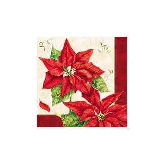 Servilletas de Navidad con diseño de Navidad, color rojo 33303036