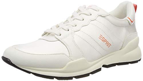 ESPRIT Damen Chelo LU Sneaker Weiß (White 100) 39 EU
