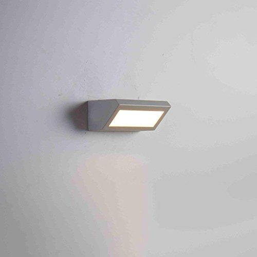 QAZ Wandleuchte LED Wasserdicht modernen minimalistischen Schlafzimmer Nachttischlampe Gang Projekt im Freien (Farbe: H) (Lighting Im Freien Spotlight)
