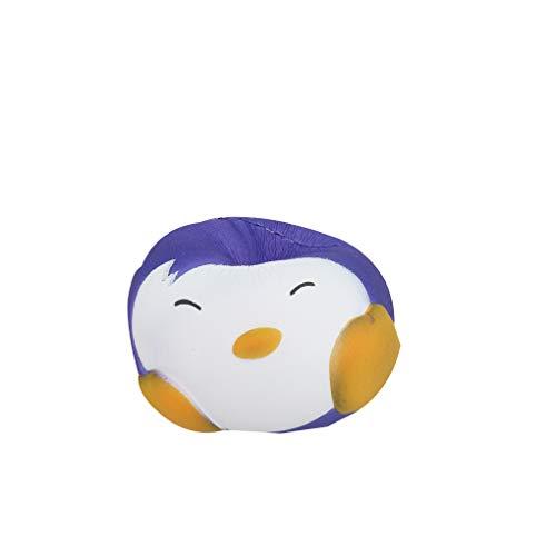 Fornateu Matschig Langsam Rising Penguin Ball Spielzeug Temperatur Farbwechsel Kinder Erwachsene Anti-Stress-Spielzeug-Druck-Helfer Relief Gadget (Vorschul-stress-ball)