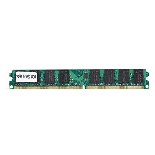 Tosuny 2 GB PC2-6400s DDR2-RAM, 800 MHz DDR2 PC2-6400, DRR2-Hochgeschwindigkeitsspeicher-RAM, Hochwertige Leiterplatte, Vermeidung von Korrosion und Abrieb - Pc4200 Sodimm Speicher