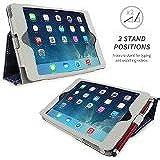 iPad mini & mini Retina Hülle (Denim Blau), SnuggTM - Smart Case mit lebenslanger Garantie + Sleep / Wake Funktio