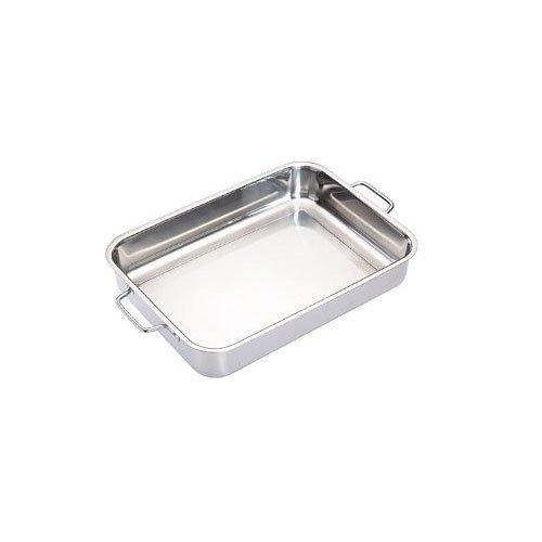 Master Class Padella per arrosti in acciaio (Acciaio Inossidabile Rettangolare Pan)