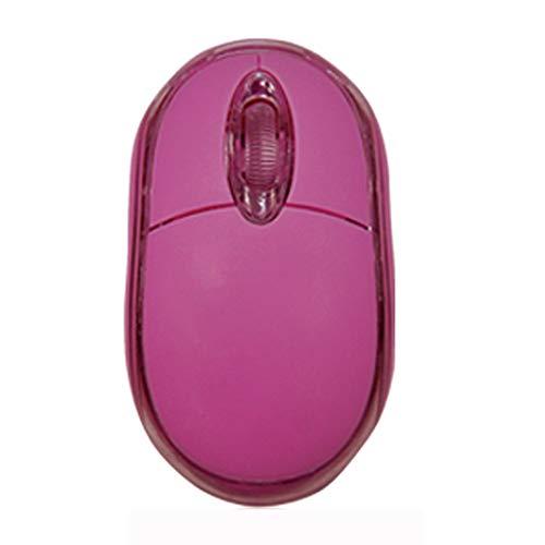 KERULA Mode 800 DPI USB verdrahtete optische Gaming Mäuse Maus für PC LaptopMaus Computer Ergonomische Leise Tragbar Mouse Wiederaufladbar MäUse Kabellos Tasten Mit EmpfäNger ()
