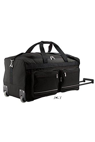 SOL'S - grand sac de voyage luxe trolley - VOYAGER 71000 - noir