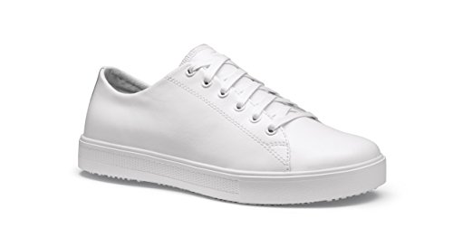 Shoes for Crews 36320-39/6 OLD SCHOOL LOW-RIDER IV Rutschhemmende Damenschuhe, Größe 6 UK, Weiß