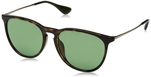 Ray-Ban Women's Erika Aviator Sunglasses, Havana, 54.0 mm