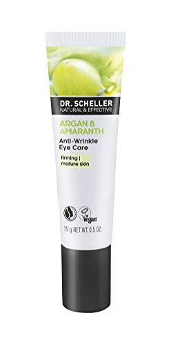 Dr. Scheller Olio di Argan & Amaranth Anti rughe per la cura degli occhi, 15 ml