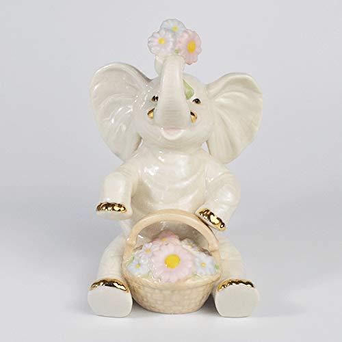 tobbrt Money Fortune Elefante de cerámica Home Crafts Furnishing Gabinete de TV...
