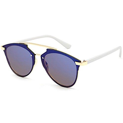 Frauen Sonnenbrille URSING Damen Autofahrer Anti-Reflexion Nachtsicht Brille Fahrbrille Super süße Brillenmode Sonnenbrillen Women Fahsion Metallrahmen Sunglasses Damenmode Geschenke (C)