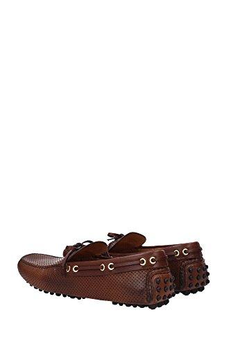 KUD006BRUCIATOVINTAGECALFFO Car Shoe Loafers Herren Leder Braun Braun