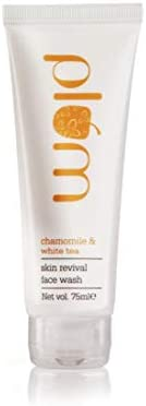 Plum Chamomile & White Tea Revival Face Wash | Mild Cleansing for Instant Glow | For Normal, Combination S