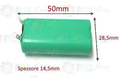 Rowenta - Batterie BYD H-AA 1000 mAh 2,4V für den Nass- und Trockenrasierer TN5100 TN5120 TN5140