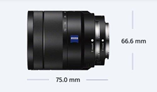 Bild 6: Sony SEL-1670Z Zeiss Standard-Zoom-Objektiv (16-70 mm, F4, OSS, APS-C, geeignet für A6000, A5100, A5000 und Nex Serien, E-Mount) schwarz