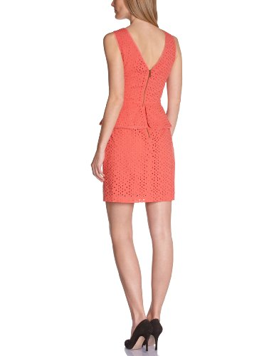 Manoukian - robe - cocktail - coton - cocktail - femme Orange (Coral Rose)