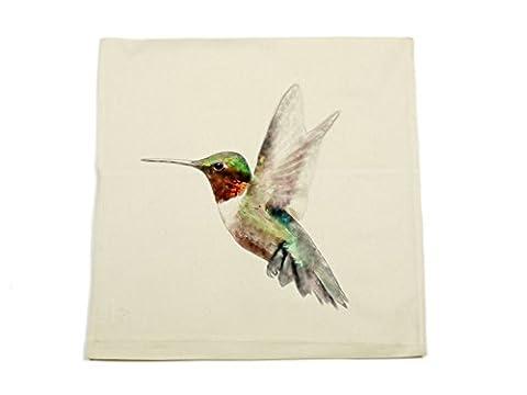 Jack Fairweather - Hummingbird Watercolour Design Printed On Natural Cotton
