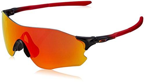 Oakley Evzero Path, Gafas de Sol para Hombre, Ruby Fade, 38
