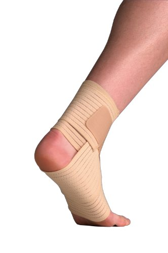 Thermoskin Elastic Ankle Wrap Support Small Medium 17-24cm Ankle Wrap
