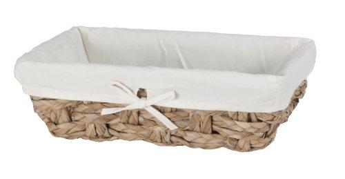 CreativeWare Chunky Weave 2lagig Vanity Korb, natur (Schmutzige Wäsche Behindern)