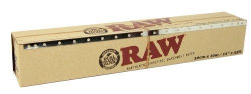 "\""RAW\"" Pergamentpapierrollen bespannte Fachgebiet Backen & Wrapping 30 cm x 10 M"