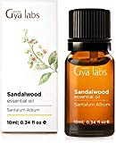 Aceite esencial de sándalo, 100% puro grado terapéutico para difusor de aromaterapia, 10 ml, laboratorios Gya