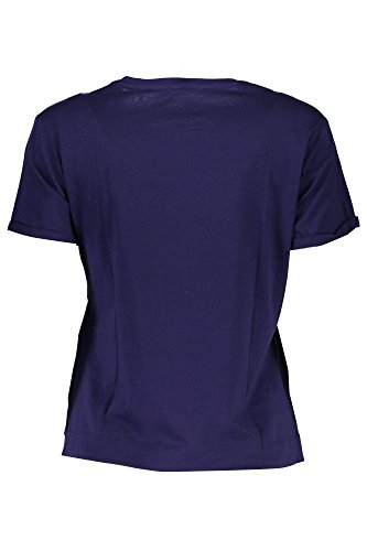 Guess Damen T-Shirt SS RN Triangle Studs Tee VIOLA ASAU