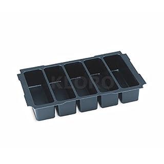 TANOS MINI-systainer® T-Loc I + III verschiedene Einsätze verschiedene Einteilungen 90100011, TANOS Einsatz:Mini 5-fach Einteilung