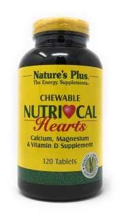Vits Kautabletten (NutriCal Hearts (Ca, Mg, Vit. D) 120 Kautabletten NP)