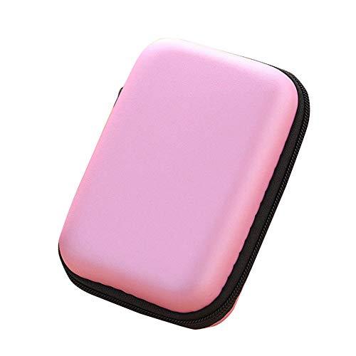 KFYOUXIN Finishing-Box Makeup-Organisator Makeup Stitching Für Fernbedienung Schmuck Briefpapier-organisator Aus Kunststoff-schmuck Aufbewahrungsbox Organizer pink (Wickeln Pink-ohrhörer)