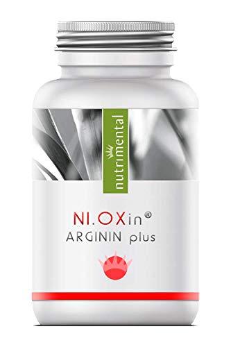Ni.OXin® L-Ornithin + L-Citrullin + L-Arginin - starker Aminosäurenkomplex - 60 Kapseln -