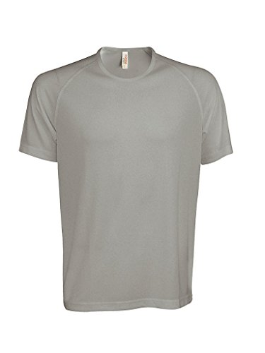 Funktionelles Sport T-Shirt Fine Grey