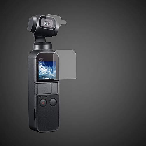 Pantalla Frontal Protector de Lente 6 Unidades Protector de Pantalla para dji Osmo Action de Vidrio Templado para Pantalla LCD 2 Unidades