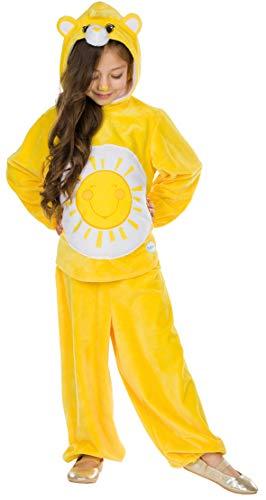 Rubie's Kinder Kostüm Sonnenscheinbärchi Gr. 104-140 Glücksbärchis gelb Fasching Karneval (116)
