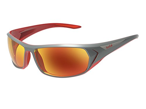 Bollé Blacktail Lunettes de soleil Blacktail  Shiny Anthracite/ Red TNS Fire