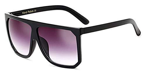 Sonnenbrille Mode In Übergröße Frauen Quadratische Sonnenbrille Designer Classic Sommer Standard Farben Flat Top Frame Brille Schwarz Grau
