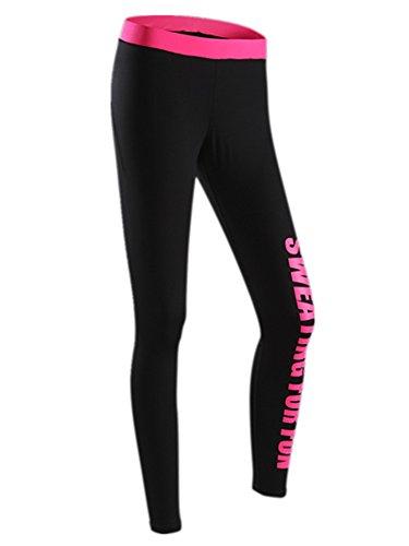 YeeHoo Frauen Hohe Taille Elastische Sport Gym Yoga Running Fitness Workout Hosen